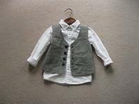 BT4039  Free shpping   Kids  boys gentlemen vest, formal vest
