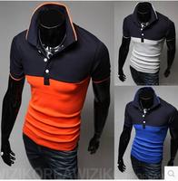 2014 new Korean men's casual short-sleeved T-shirt/t shirt men brand,Free Shipping
