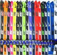 FREE SHIPPING Men's Sport logo Mobile neck strap wholesaler  Mix Color