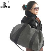 2014 female casual bag travel bag shoulder bag gym bag canvas bag