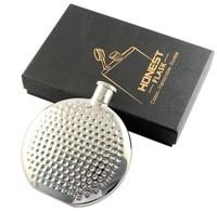 Retail - 10PCS High quality Honest 4oz Hip Flask 304 Stainless steel Hip flasks - 71302