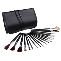 Wholesale New 20 PCS Professional Make Up Cosmetic Facial Face Blush Brush With Pouch Case Makeup Brushes Set