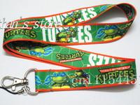 Free Shipping  Ninja Turtle Key  Lanyard Mobile neck strap Wholesaler