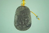 Details about 100% Natural Hand-carved Jewelry Jade Pendants Pendant Necklaces as a gift about the dragon