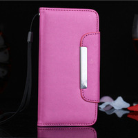 "for iphone 6 cases wallet lady purse 4.7"" inch with stitch and card slots , for iphone 6 leather case cover free shipping"
