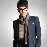 7 styles SC180225 180*30cm Man fashion autumn winter plaid pattern keep warm scarf
