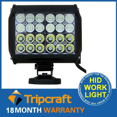 New 72W cree led light bar High Power SUV ATV 4WD SPOT/FLOOD Beam 4 Rows led light bar work cheap led bar lights(China (Mainland))