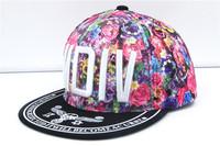 Wholesale fashionable hip-hop graffiti hip-hop cap embroidery letter sunshade hip-hop Cap Baseball Cap Hat on
