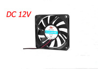 70mm x 70mm x 10mm 7010 2pin 12V DC Brushless Cooling Fan for PC Case Computer CPU Cooler