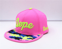 Wholesale fashion hiphop hat men and women Street Harajuku letters with hip-hop star baseball cap hat