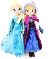 2014 New Frozen Plush Toys Cute 40CM Princess Elsa Anna Plush Dolls Brinquedos Kids Doll For Girls On sale Babydolls