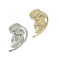 #271 2014 Fashion Punk Leaves Ear Cuff Ear Clip With No Pierced Earrings Wholesale Jewelry For Women 24pcs/lot