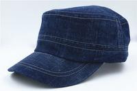 Manufacturers custom-made Korean cowboy baseball cap sunshade hat fashion leisure flat cap special wholesale