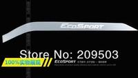 2013 2014  ECOSPORT Glove box light bar aluminum decorative stickers special glove box light strip