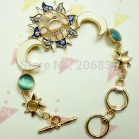 New Fashion Colorful Moon Bracelet Sun Bracelet Star Bracelets For Women