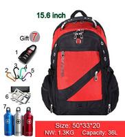New Hot high quality Swiss Army business shoulder bag 15.6 / 17 inch computer bag schoolbag men women fashion tide bags SW836-02