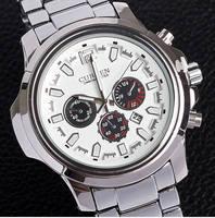 Fashion Curren Men Full Stainless Steel Wristwatch Men's Sport Watches Relogio Curren Dial Men Business Quartz Watch Relojes