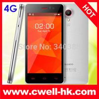 "Original Bluboo X4 cheapest 4G LTE FDD smart Mobile Phone 4.5""  MTK 6582M quad core 1GB ROM4GB ROM Android 4.4 onepluse one mini"