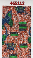 Free shipping high quality african real wax printed fabric of 465112