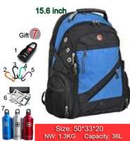 New Hot high quality Swiss Army business shoulder bag 15.6 / 17 inch computer bag schoolbag men women fashion tide bags SW836-05