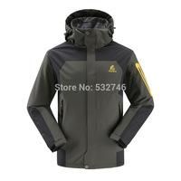 Skiing jacketsGerman outdoor waterproof windproof jacket wholesale  new couple models sport coat factory direct discount_Man fas