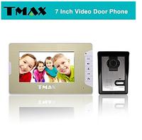 "TMAX 7"" LCD Video Door Phone Doorbell Home Entry Intercom with 500TVL Night Vision Camera"