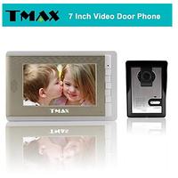 """TMAX 7"""" Video Door Phone Doorbell Intercom System with 500TVL Night Vision Camera"""