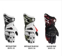 2013 Latest Printing GP PRO Genuine Leather racing gloves,Long motorcycle riding gloves Free Shipping