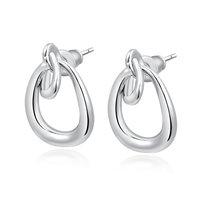 Christmas Delicate Platinum  Simple  Earrings,Gift girlfriend beautiful,Pure handmade fashionable,ROXE131