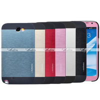 Ultra Thin Brushed Metal Aluminum Phone Case Cover For Samsung Galaxy S4 S5 Note 2 3
