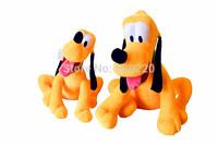 Disnep Cartoons Stuffed 60cm 24inch The Pluto Dog Plush Toys For Child Bedtime Play Toys Birthdays Gift Free shipping