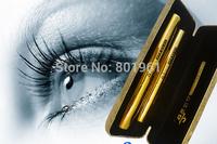 Top Sale ! South Korea Waterproof Mascara Double Naral Lengthening Curling Mascaras 1 Set=2Pcs   12set / pcs