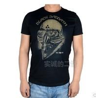 Robert Donny, iron man, the Avengers Black Sabbath, an Never Say Die78 T-shirt