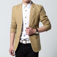 Fashion blazerCheap Wholesale Men's Slim casual men's leisure suits Korean Slim suits D014blaser_Man fashion blazer