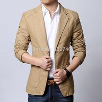 Fashion blazer Cheap Wholesale Men Slim casual Korean version of casual men's suit jacket suit coat D065blaser_Man fashion blaze