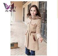 Jaquetas femininas 2014 plus size female jacket winter women casual overcoat desigual cardigans clothing nylon long coat W239
