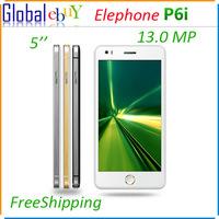 Original Elephone P6i 5.0 Inch MTK6582 QuadCore 1.3GHz 1GB RAM 4GB ROM Android 4.4 SmartPhone 13.0MP Back Camera 3G WCDMA OTG AD