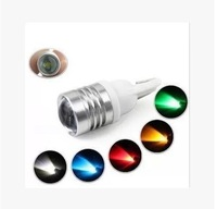 Automotive LED indicator lights and wide lens power W5W small lamp super bright lights running lights license