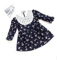 Ann baby planning children's clothing wholesale Korean girls dress L--7025