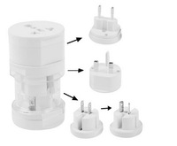 2451 No tracking number Travel universal adapter for Worldwide US UK AU EU travel power adaptor plug converter All in One