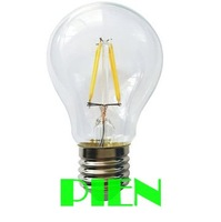 Filament Led bulb A19 bulb 4W 6W 8W E27 220V 360 Degree Warm White Energy Saving Wholesale Free shipping 2pcs/lot