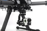 X-CAM A10-3H 3 Axis Brushless Gimbal for GOPRO 3+
