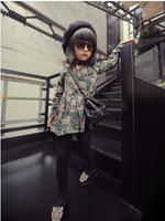 (5 pcs/lot)wholesale children's clothing wholesale girls floral doll dress factory direct