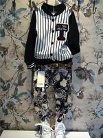 Ann precious children's clothing wholesale boy Hitz Korean vertical grain jacket coat A8776/A5330