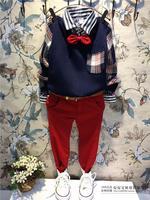 (5 pcs/lot)wholesale children's clothing wholesale boy leisure shirt A0103/A8789