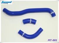 Motor Silicone Hose for SUZUKI DRZ 400 DRZ400 DRZ400S DRZ400SM 2002-2011 Silicone Radiator Hose Kit Blue MT-001