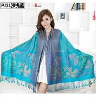 New 2014 Woman Brand Pashmina Cashmere Viscose  Warm Twill Scarf  Fashion Scarves  Shawl Blanket  195*70cm