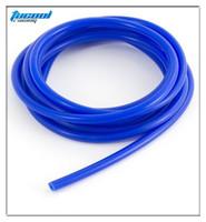 "Free Shipping Blue ID:1/8"" 0.12"" 3MM Silicone Vacuum Hose Pipe Tube Silicone Tube Tubing 5M"