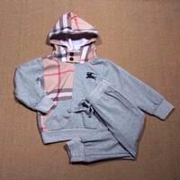 Retail  Brand  2014  New  fashion  spring/autumn  children's  set  blouse+pants  long  sleeve  hooded  unesix set  free shipping