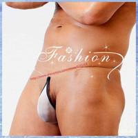 Man Mens Cotton Teardrop invisible Sexy G-String Micro mini Bikini swimwerar Thong Panties Brief Underwear Lingerie Gay Sex Toy